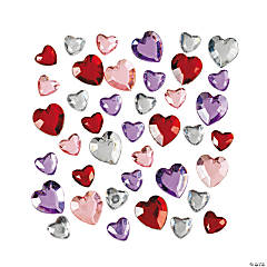 Plastic Heart Jewels
