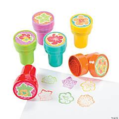 Plastic Hibiscus Stampers