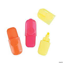 Plastic Highlighter Assortment