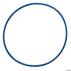 """Plastic Hoops, 24"""", Assorted Colors, Pack of 12"""