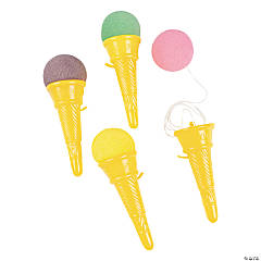 Plastic Ice Cream Cone Shooters
