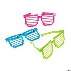 Plastic Jumbo Pixel Shutter Glasses