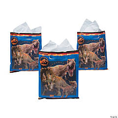 Plastic Jurassic World™ Treat Bags