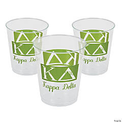 Plastic Kappa Delta Tumblers - 10 oz.