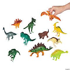 Plastic Large Dino-Mite Dinosaurs