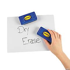 Plastic Large Dry Erase Erasers