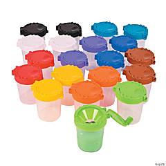 Plastic Large Paint Cups Classpack