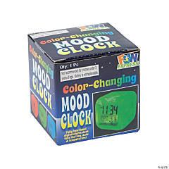 Plastic LED Color-Changing Mood Clock
