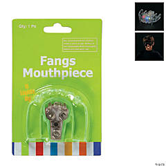 Plastic LED Flashing Fangs