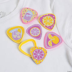 Plastic Lemonade Party Shirt Clips