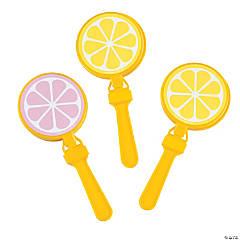 Plastic Lemonade-Shaped Hand Clappers