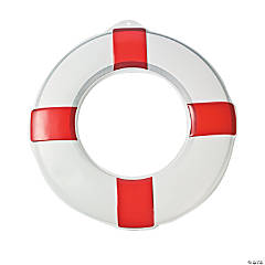 Plastic Life Preserver Wall Decorations