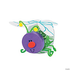 Plastic Lightning Bug Jar Craft Kit