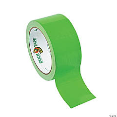 Plastic Lime Green Duck Tape® Duct Tape
