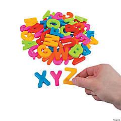 Plastic Magnetic Letters - Uppercase Letter Set