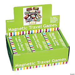 Plastic Magnetic Travel Games