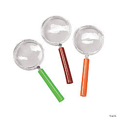 Plastic Magnifying Glasses