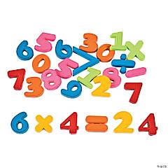 Plastic Math Magnets Classpack