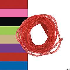 Plastic Mesh Tube Ribbon