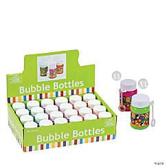 Plastic Mini '60s Bubble Bottles