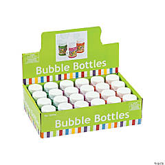 Plastic Mini '60s Bubble Bottles