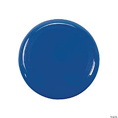 Plastic Mini Blue Flying Discs