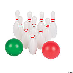 Plastic Mini Bowling Sets