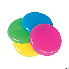 Plastic Mini Flying Saucers