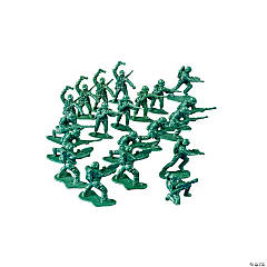 Plastic Mini Green Soldiers