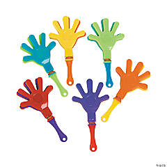 Plastic Mini Hand Clappers