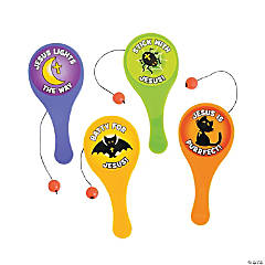 Plastic Mini Little Boolievers Paddleball Games
