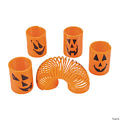 Plastic Mini Pumpkin Magic Springs