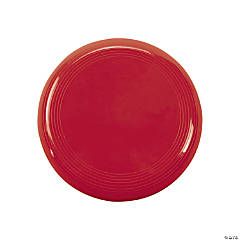 Plastic Mini Red Flying Discs