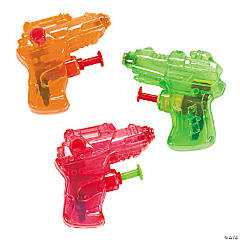 Plastic Mini Squirt Gun Assortment