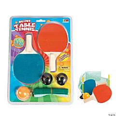 Plastic Mini Table Tennis Game Set