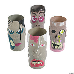 Plastic Molded Zombie Cups