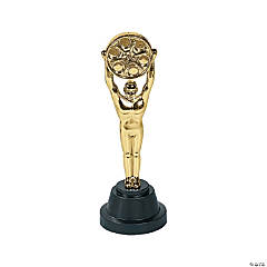 Plastic Movie Reel Award Statues