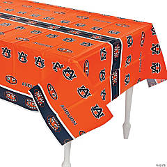 Plastic NCAA™ Auburn Tigers Table Cover