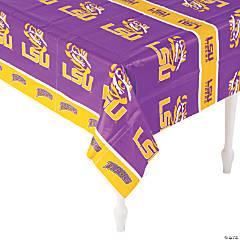 Plastic NCAA® LSU Tigers Tablecloth