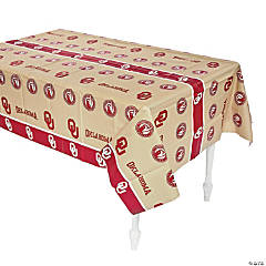 Plastic NCAA™ Oklahoma Sooners Table Cover