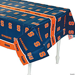 Plastic NCAA™ Syracuse Orange Table Cover