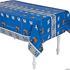 Plastic NCAA® University of Kentucky Tablecloth