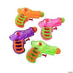 Plastic Neon Grip Squirt Guns