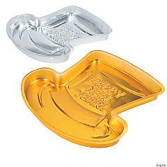 Plastic New Year's Serving Trays