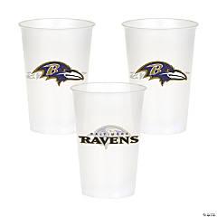 Plastic NFL® Baltimore Ravens Cups