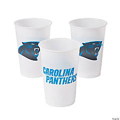 Plastic NFL® Carolina Panthers Cups