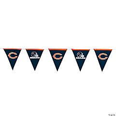 Plastic NFL® Chicago Bears™ Pennant Banner