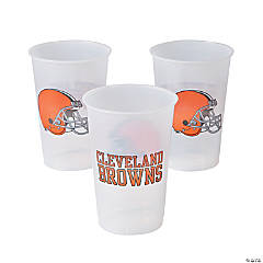 Plastic NFL® Cleveland Browns Cups