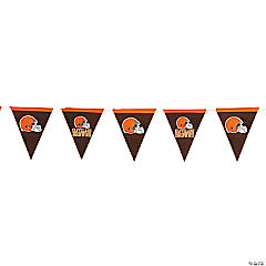 Plastic NFL® Cleveland Browns Pennant Banner