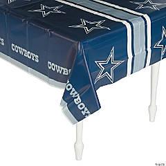 Plastic NFL® Dallas Cowboys Tablecloth